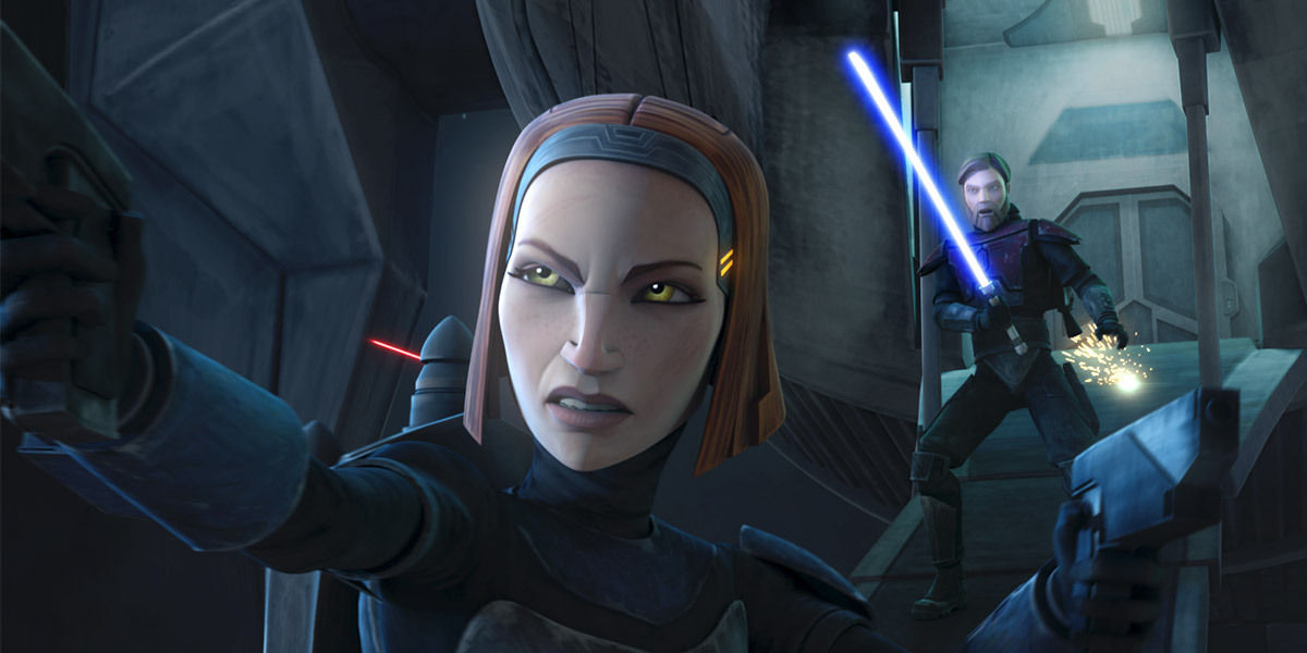 Katee Sackhoff to Reprise Clone Wars Role on Star Wars Rebels
