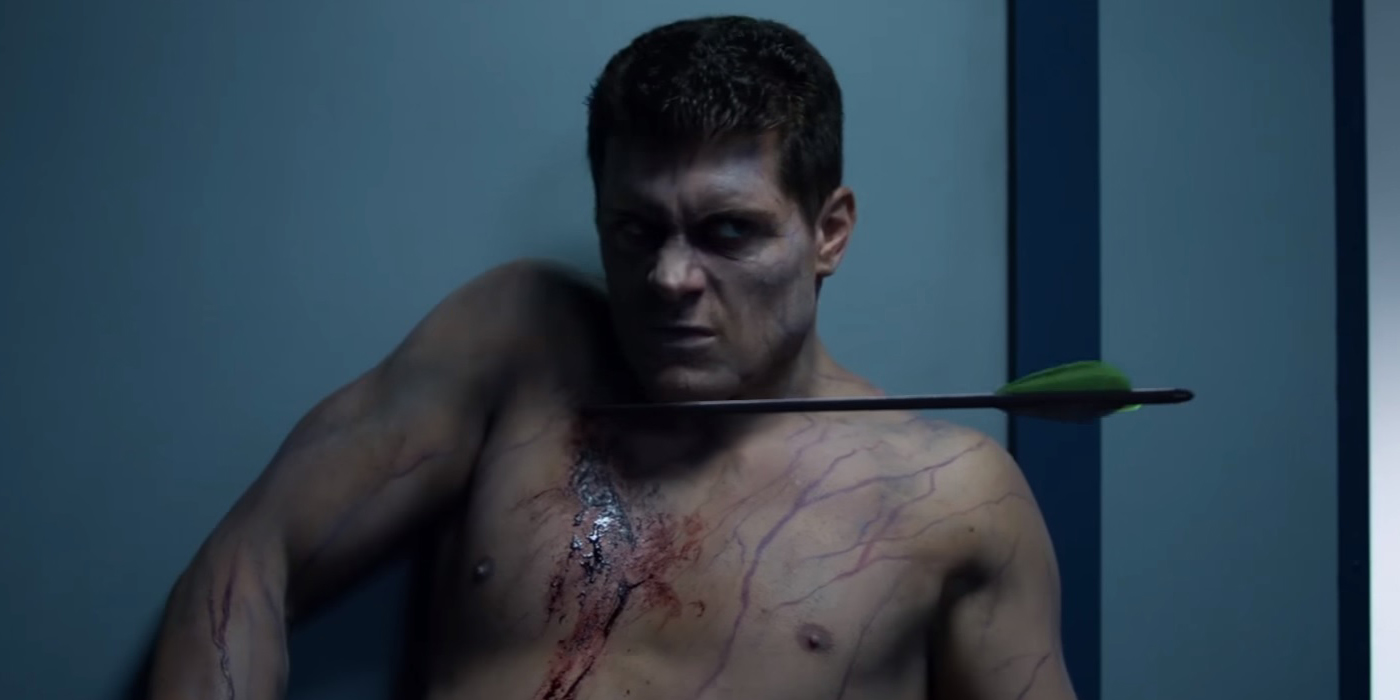 WATCH: Amell Stages a Rematch with Cody Rhodes in New Arrow S5 Clip