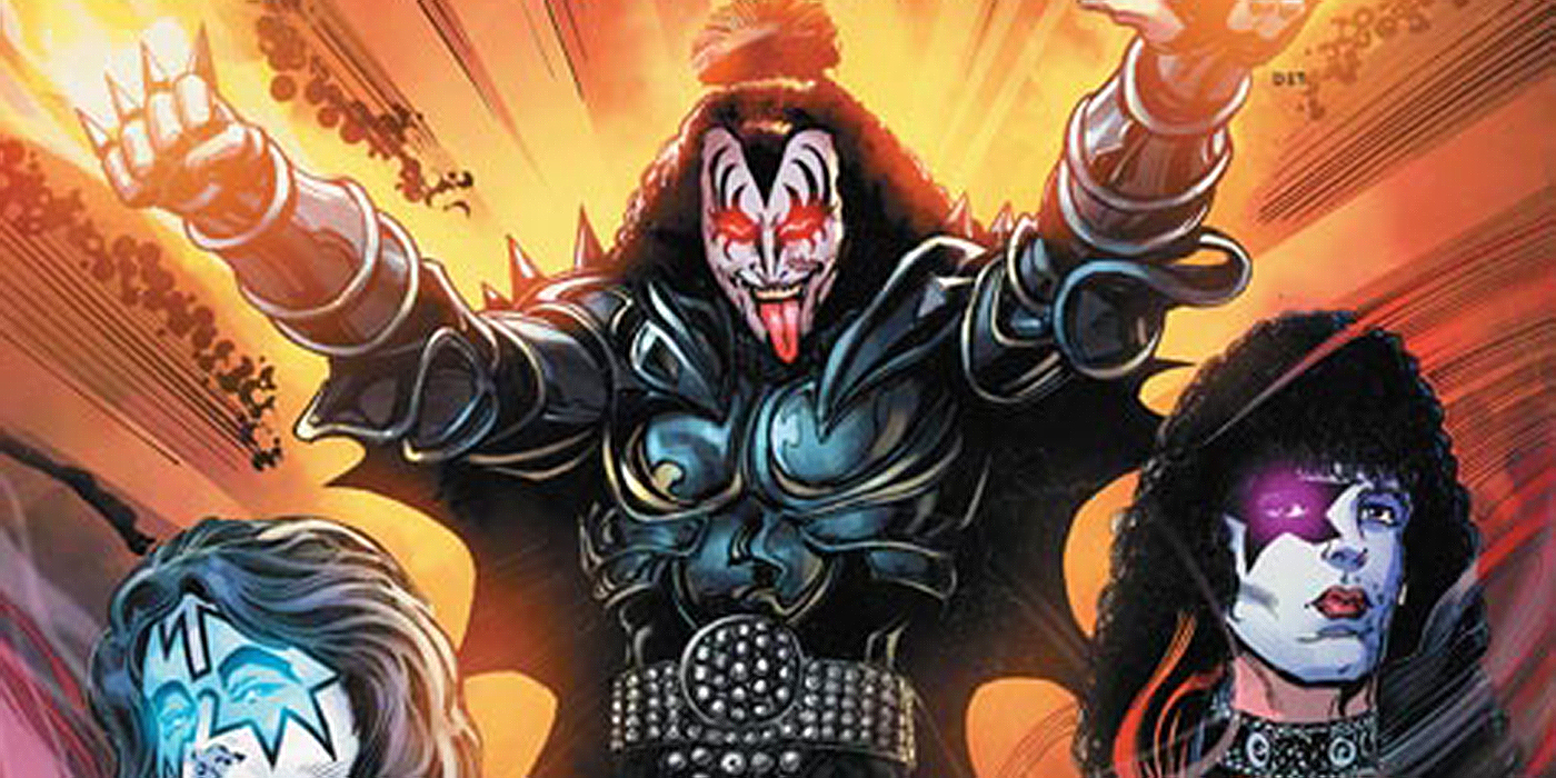 Gene Simmons Takes The Lead In KISS: The Demon Series