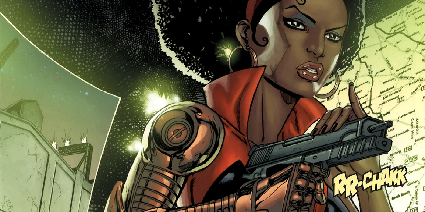 Image result for misty knight arm