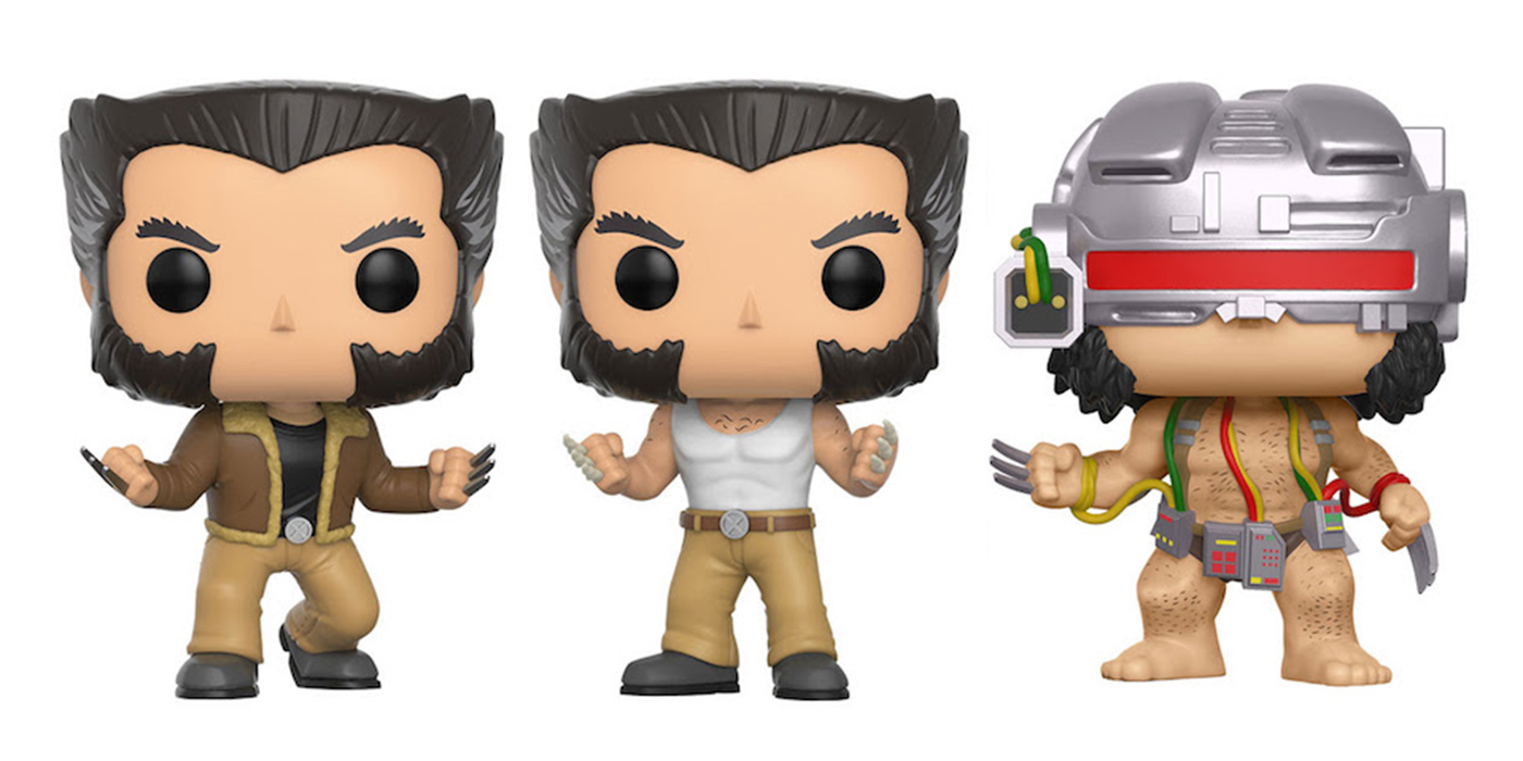 New Logan Funko Pop Vinyls Are Clawed Amp Cute Cbr