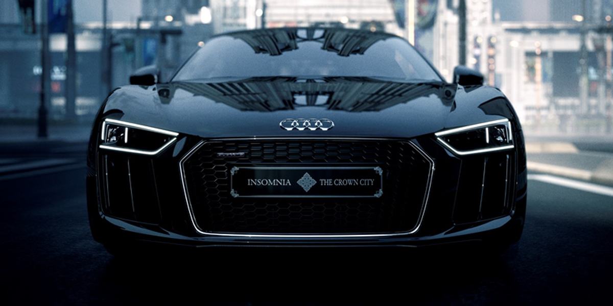Delicieux This Final Fantasy XV Themed Audi Is Real (and Really Expensive)