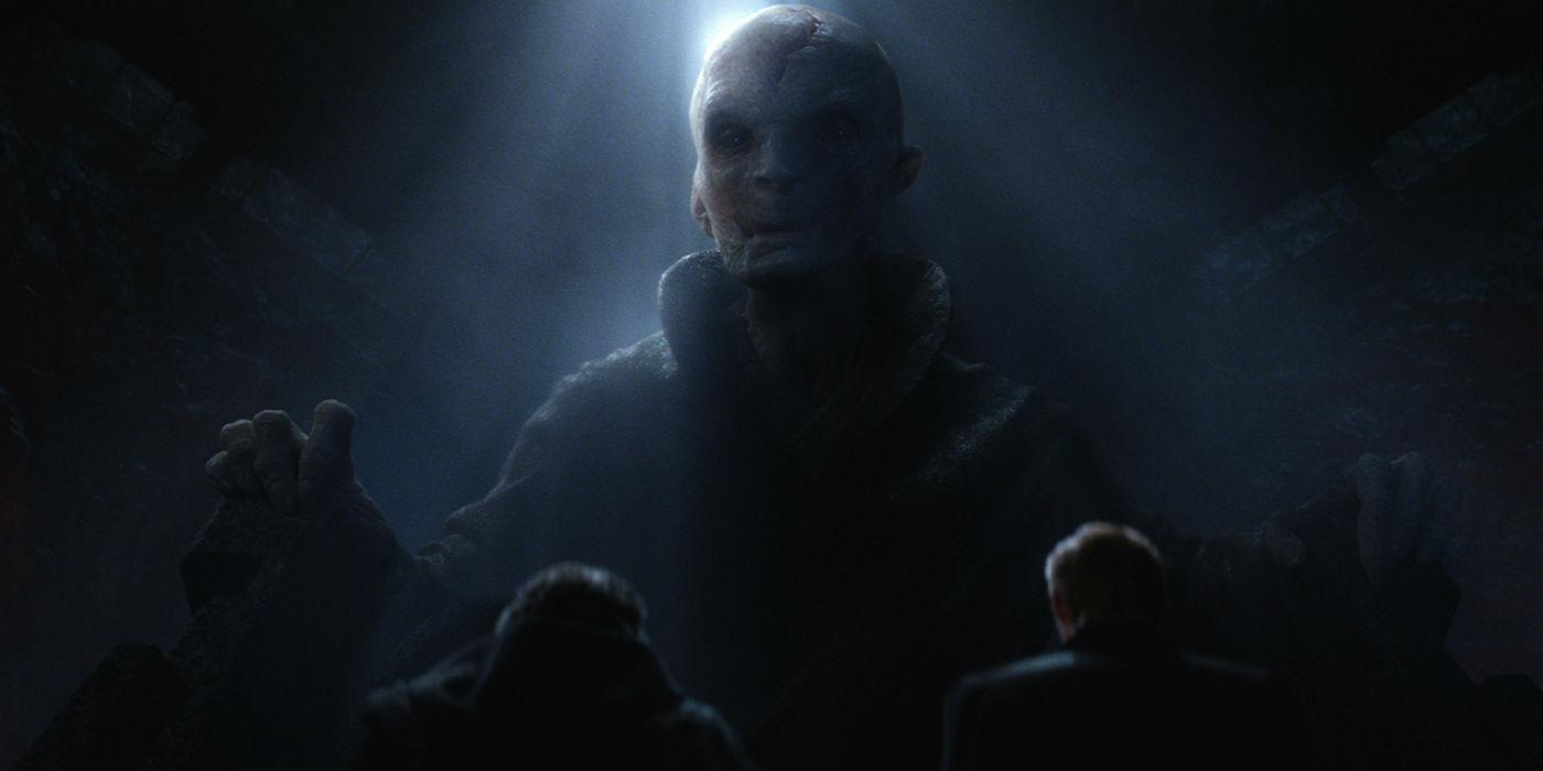 LOOK: Star Wars' Supreme Leader Snoke Revealed