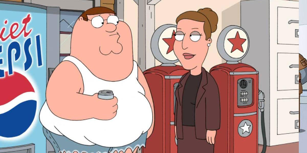 Stephen King Family Guy