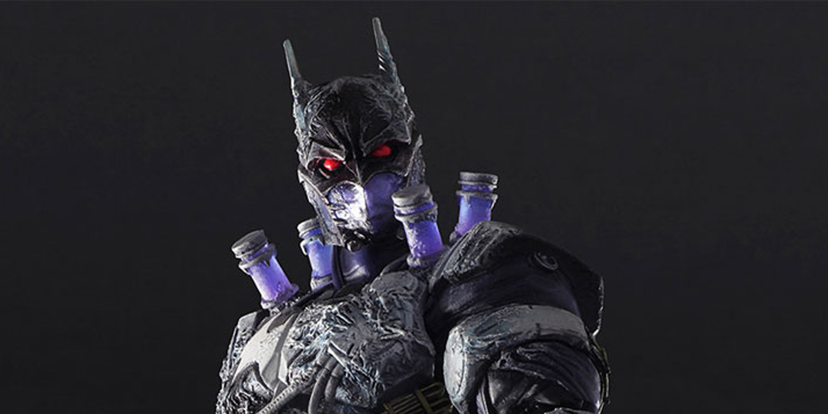 Batman and Mr. Freeze Merge For Perfectly Chilling Action Figure