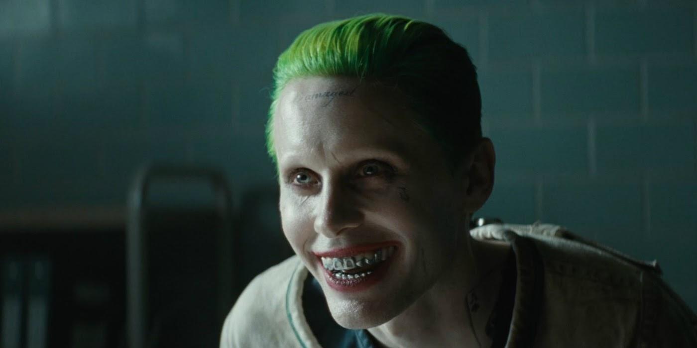 Jared Leto Channels The Joker to Accept MTV Movie Award ... Jared Leto Joker