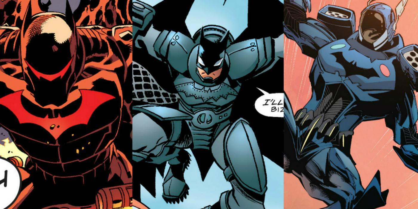 Batmans 15 Most Powerful Suits