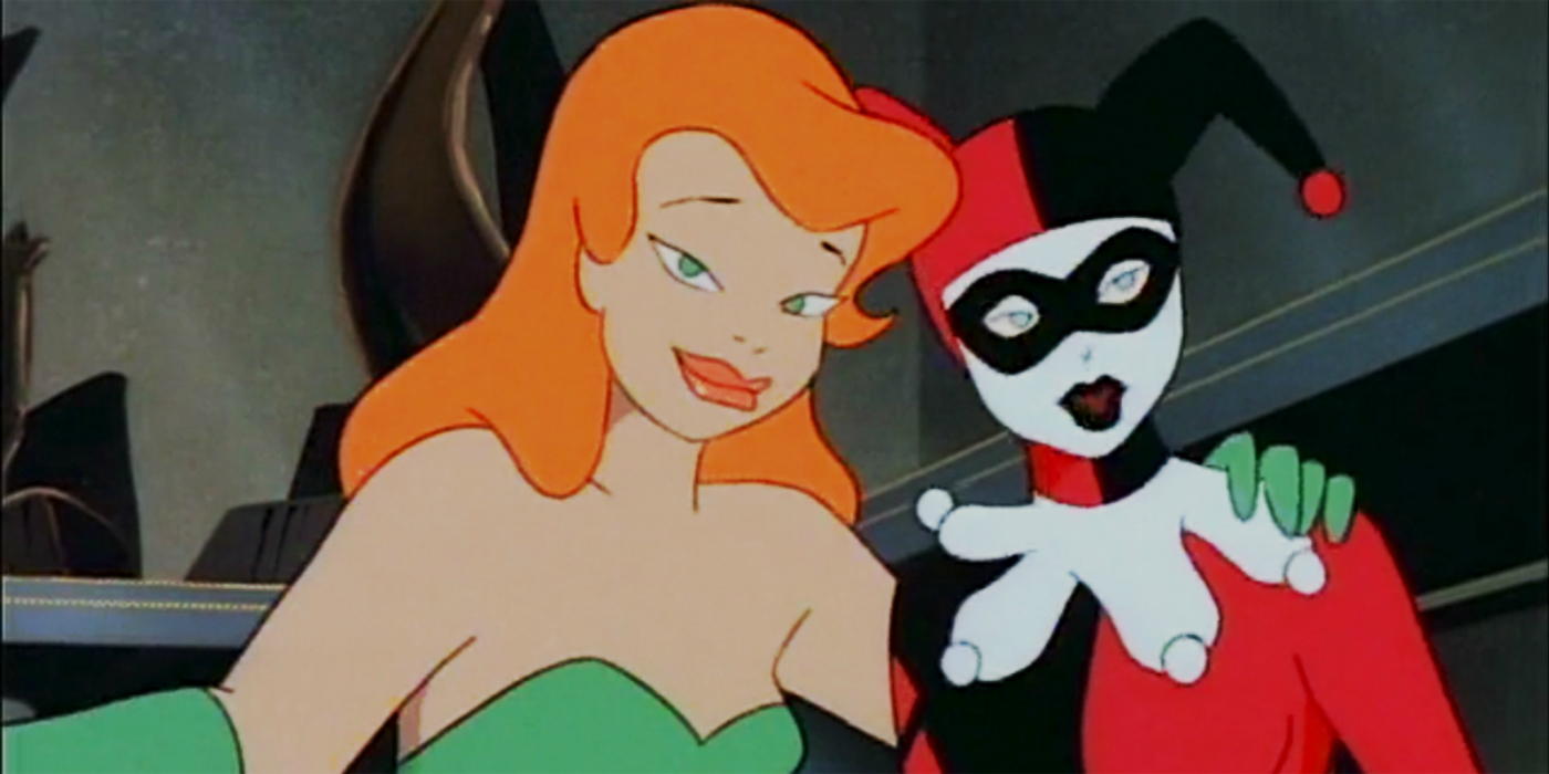 Harley Quinn and Poison Ivy Batman The Animated Series