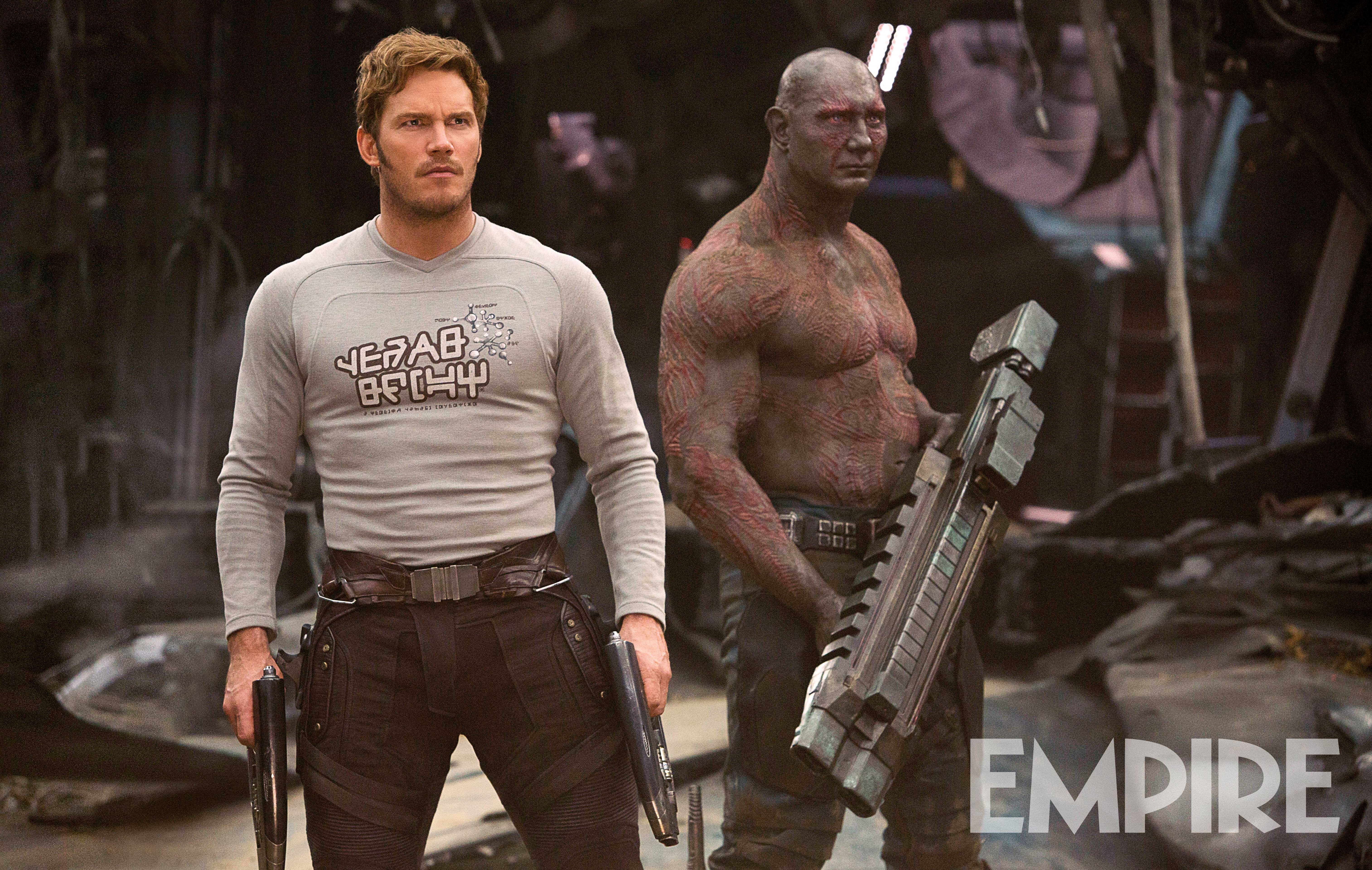 Star-Lord Drax Guardians of the Galaxy 2