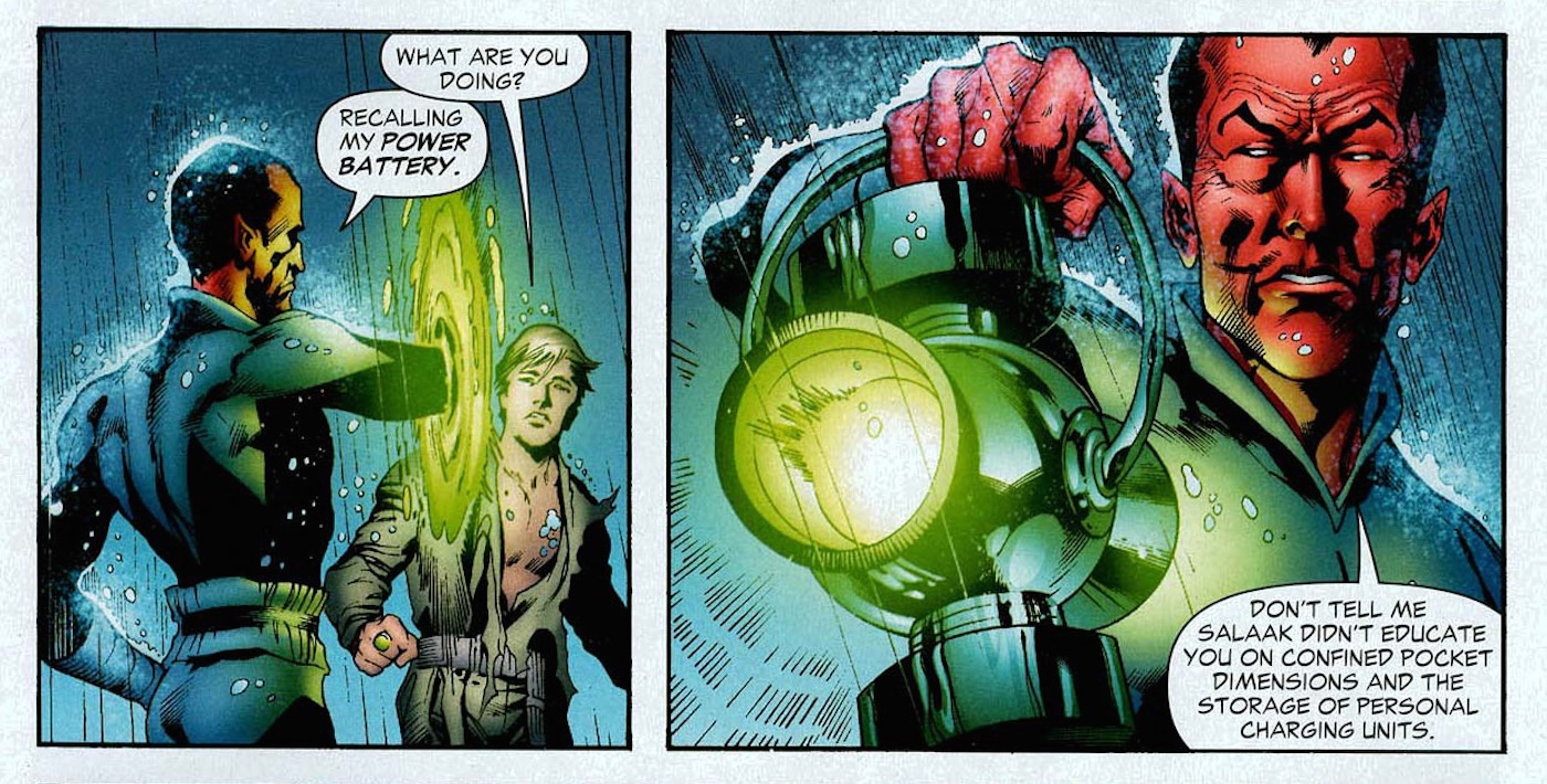 green lantern secret origin