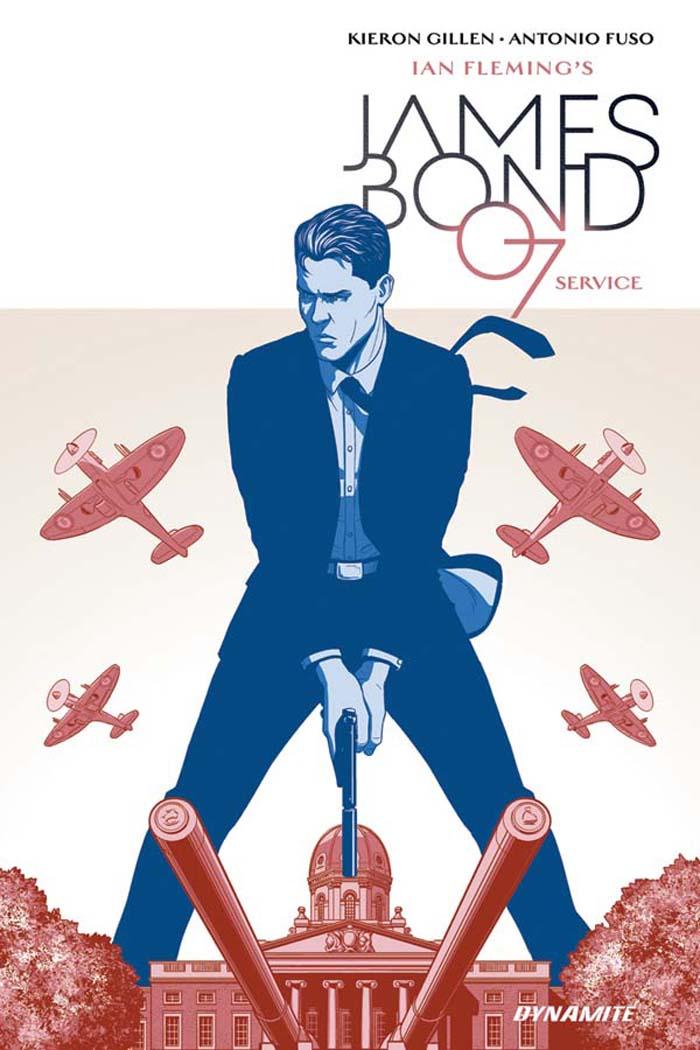 James Bond: Service cover by Jamie McKelvie