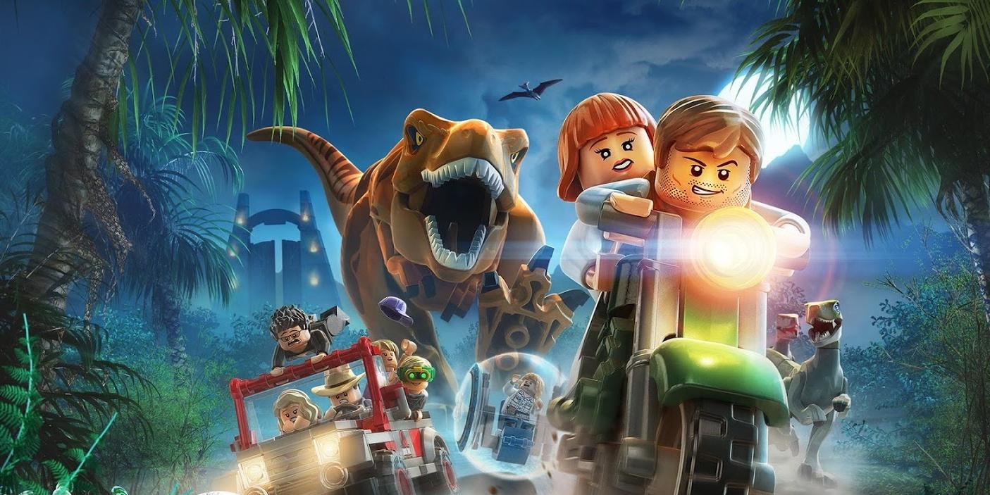Jurassic World-Style Custom LEGO Build Fuses Roller ...