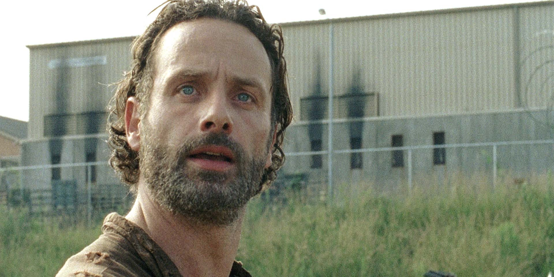 the walking dead andrew lincoln pitches his idea for finale. Black Bedroom Furniture Sets. Home Design Ideas