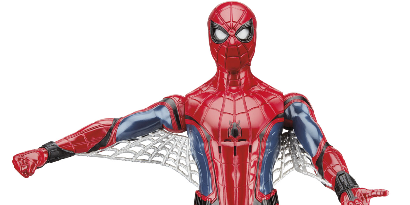 Homecoming Spider Man Toys : Hasbro reveals new spider man homecoming toys