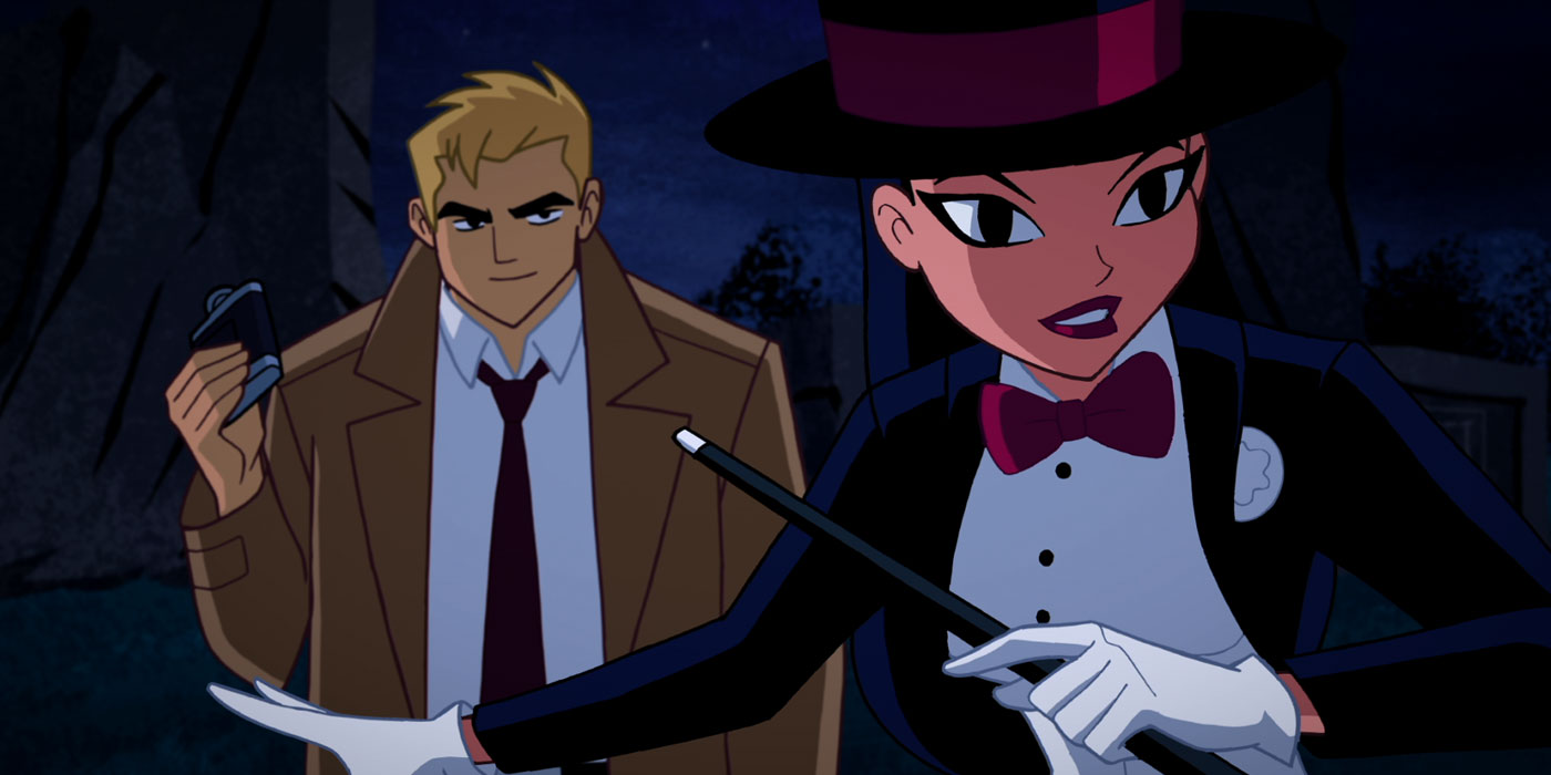 zatanna justice league heroes - photo #7