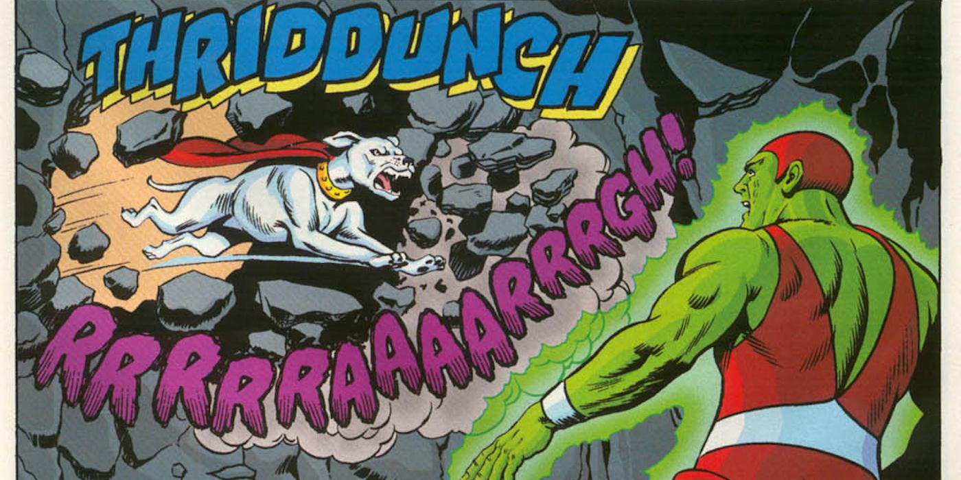 07 - Krypto v Kryptonite Man