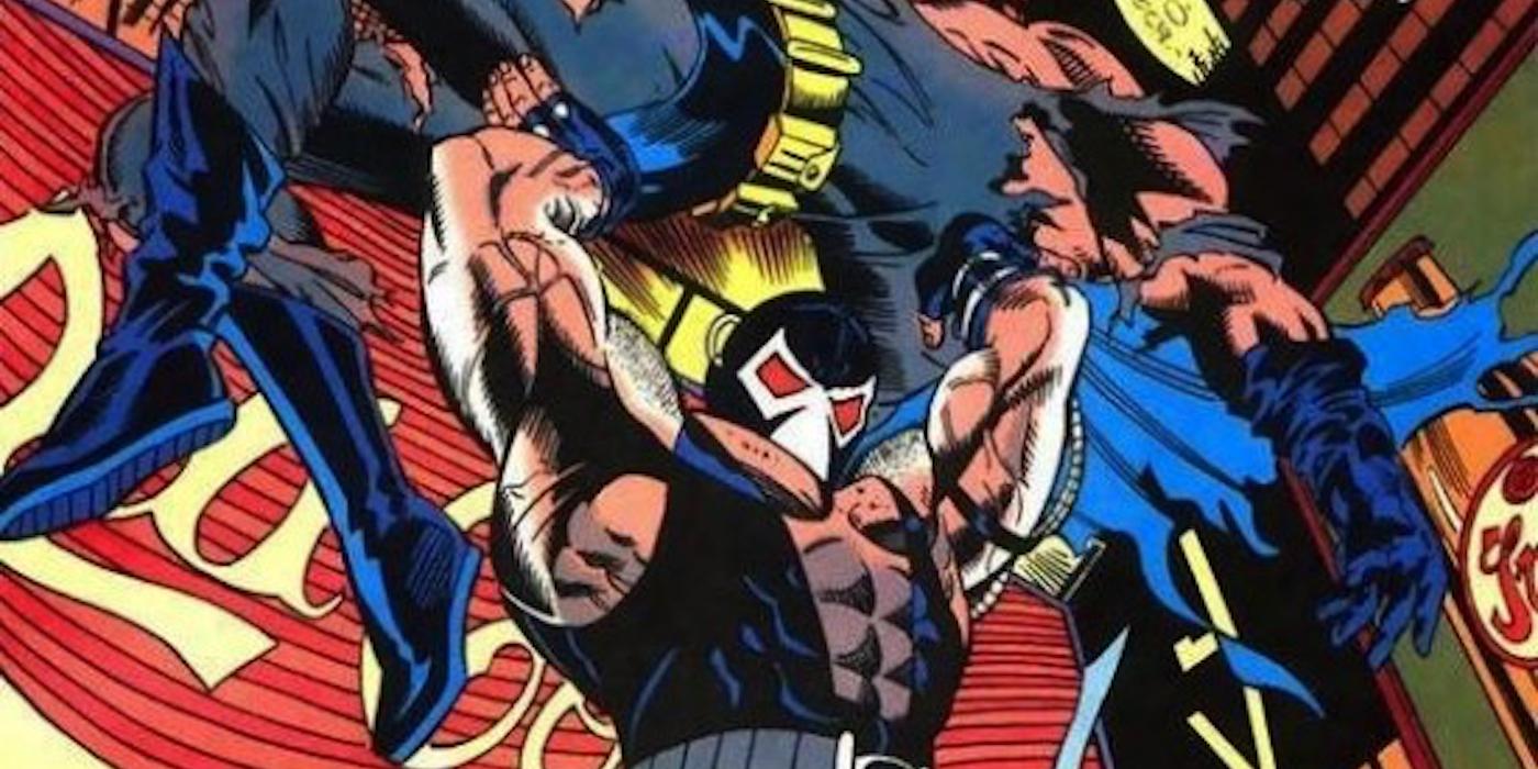 08 - Batman Knightfall - Batman v Bane