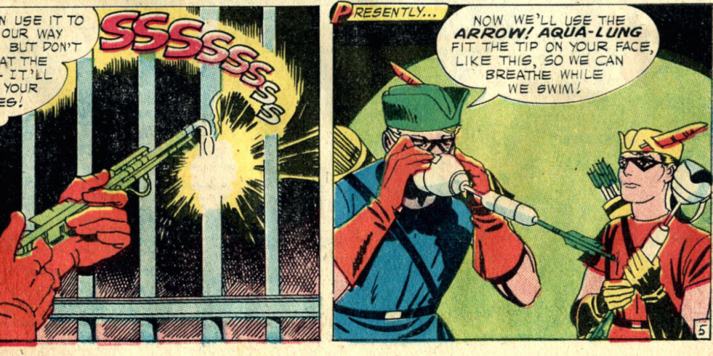 The 17 Most Ridiculous Trick Arrows Of Green Arrow Cbr