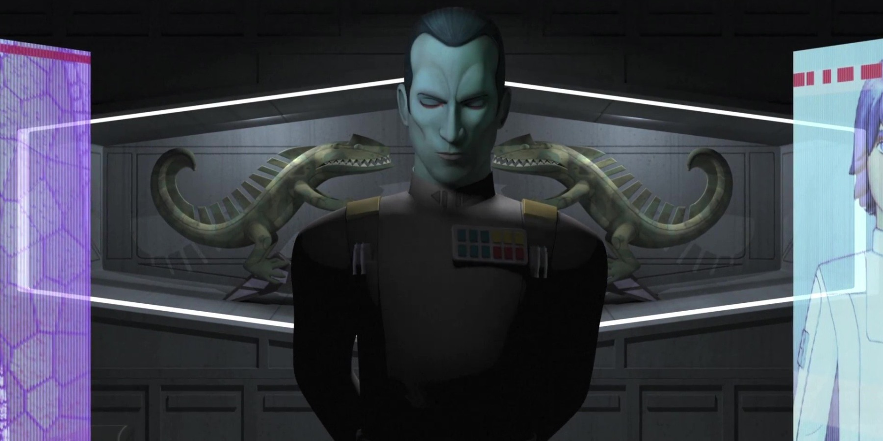 Admiral Thrawn from Star Wars Rebels
