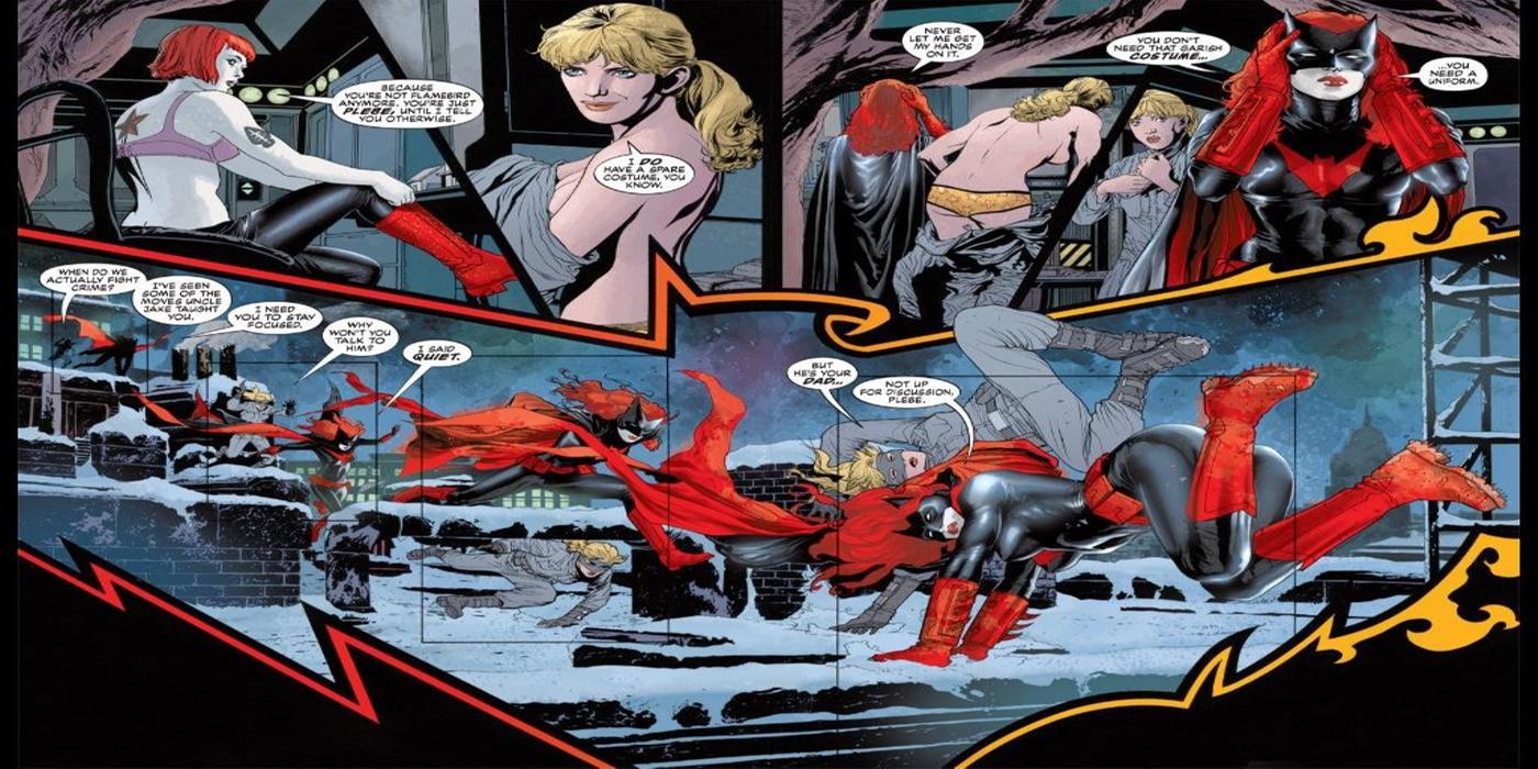 Batwoman and Flamebird