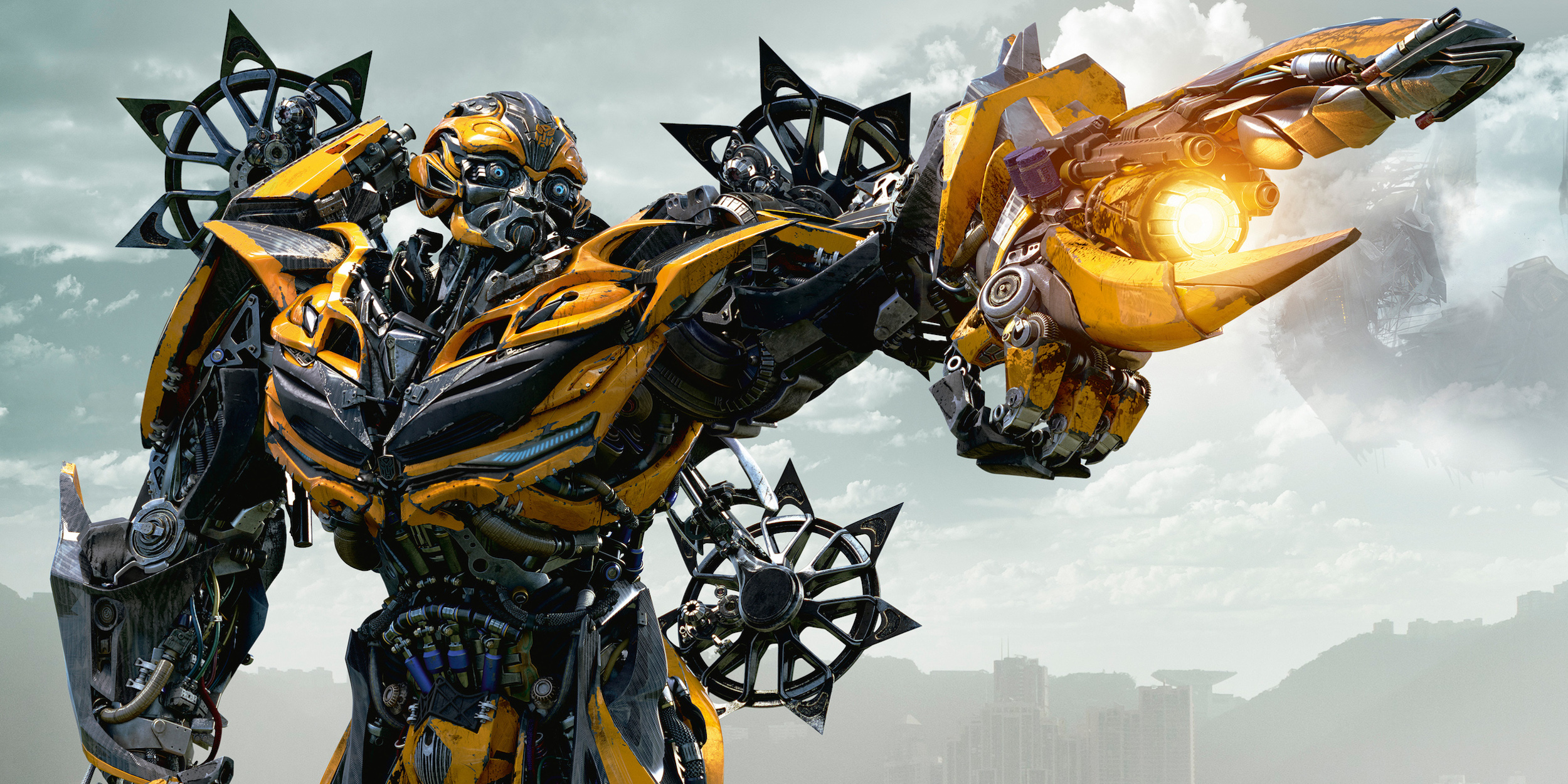 transformers bumblebee 39 s long history teased at cinemacon. Black Bedroom Furniture Sets. Home Design Ideas