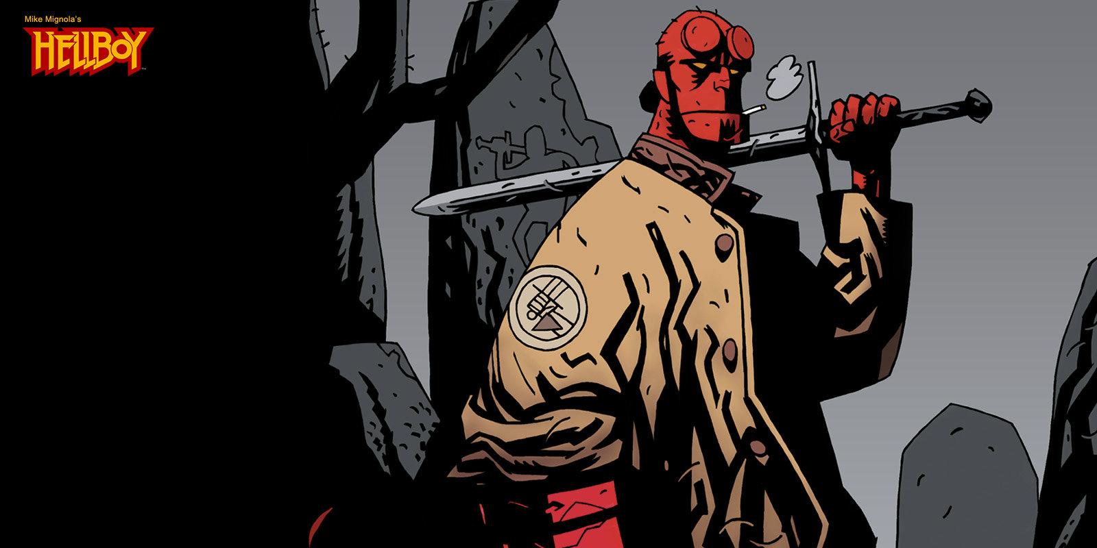 Resultado de imagen para Hellboy comic