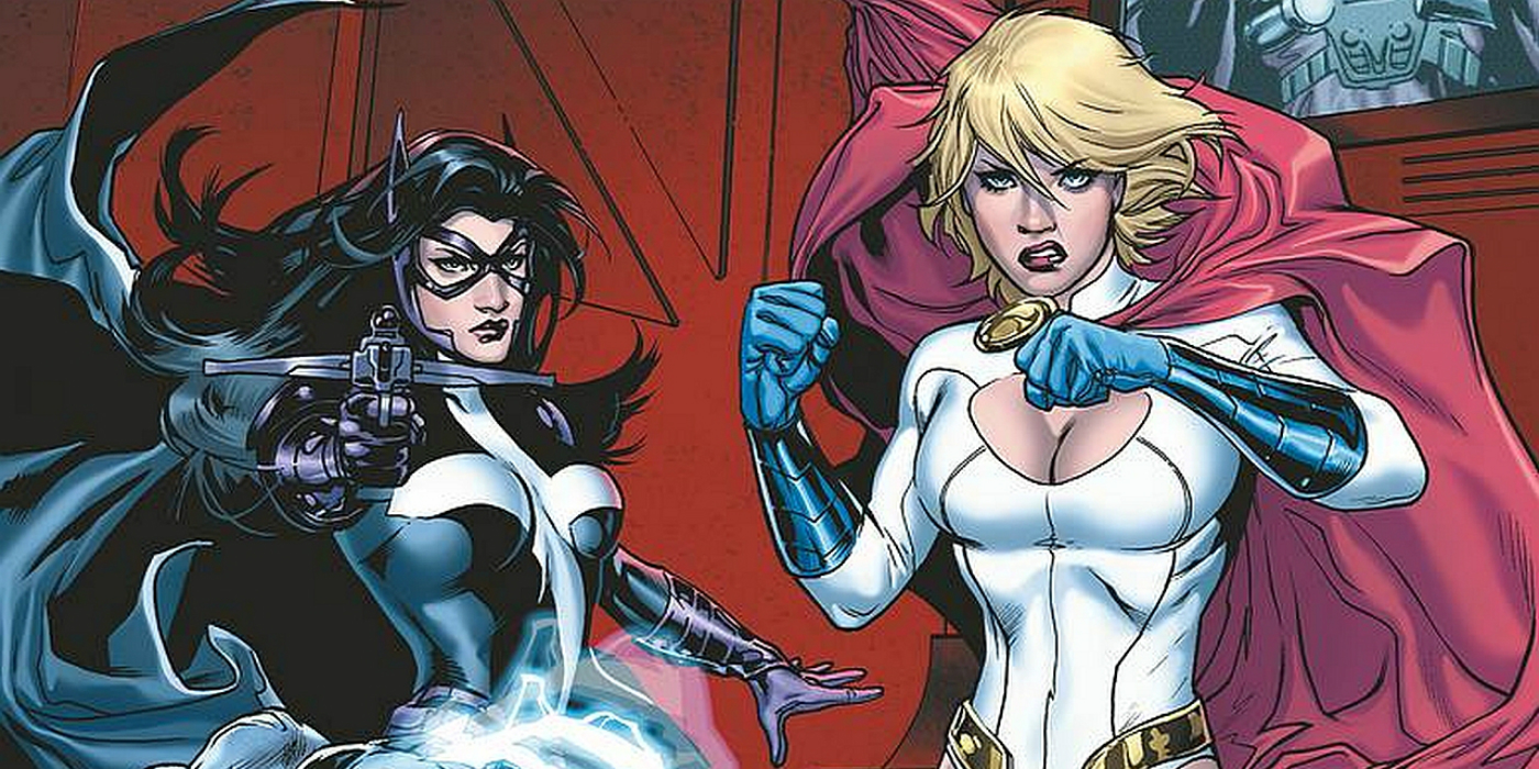 Huntress and Power Girl