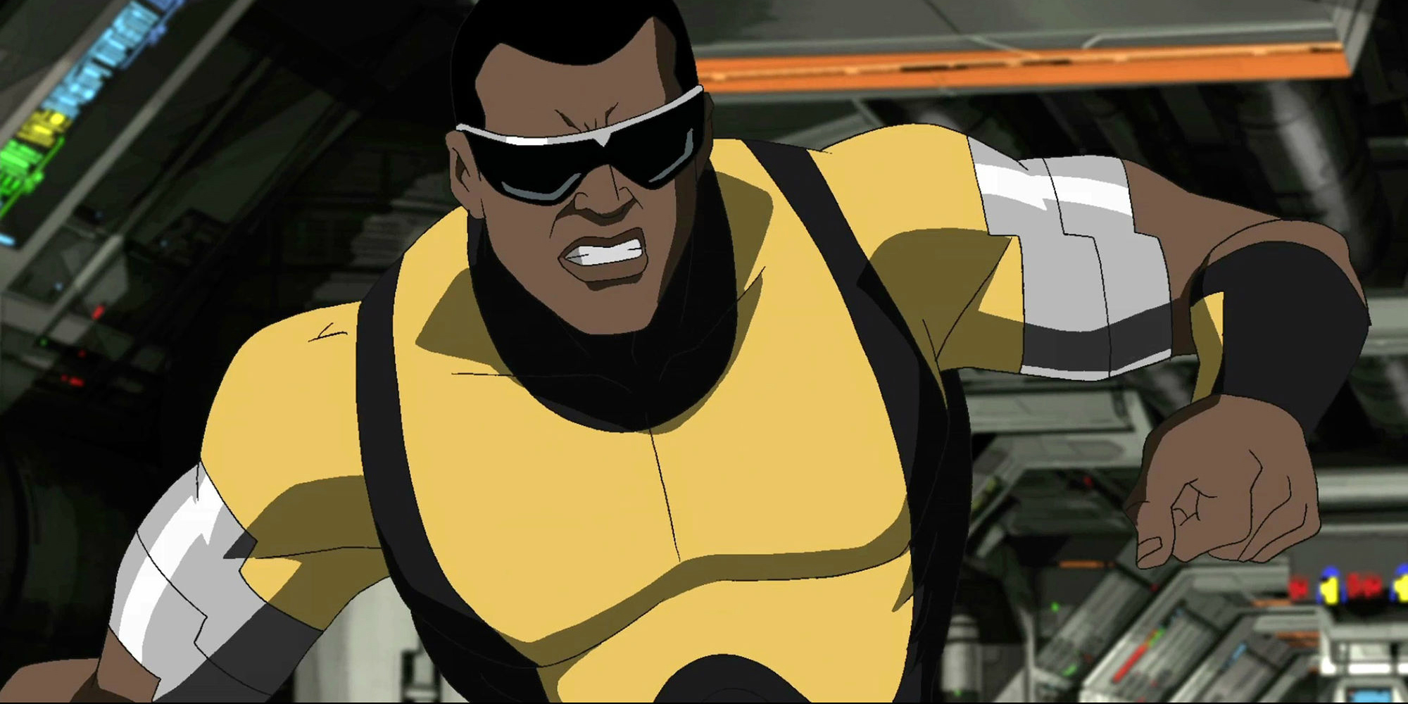 Power Man from Ultimate Spider-Man