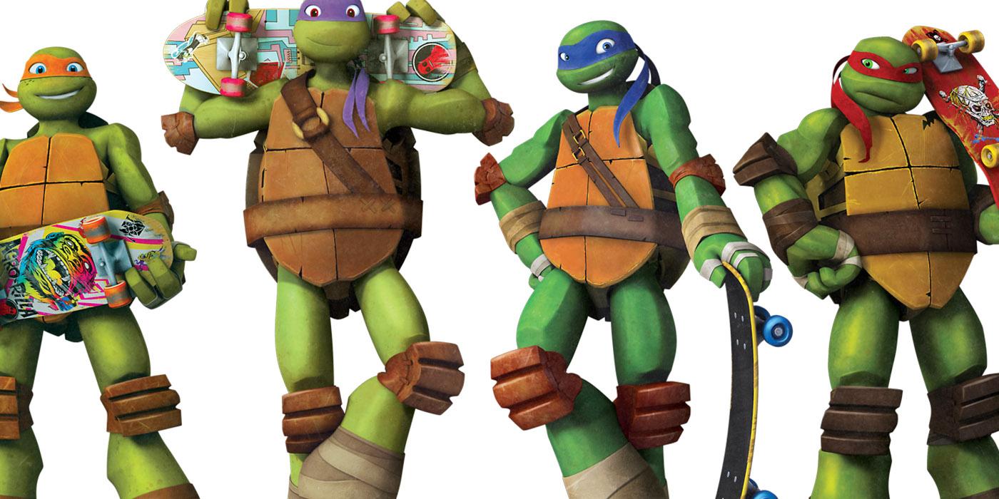 TMNT - All four Ninja Turtles