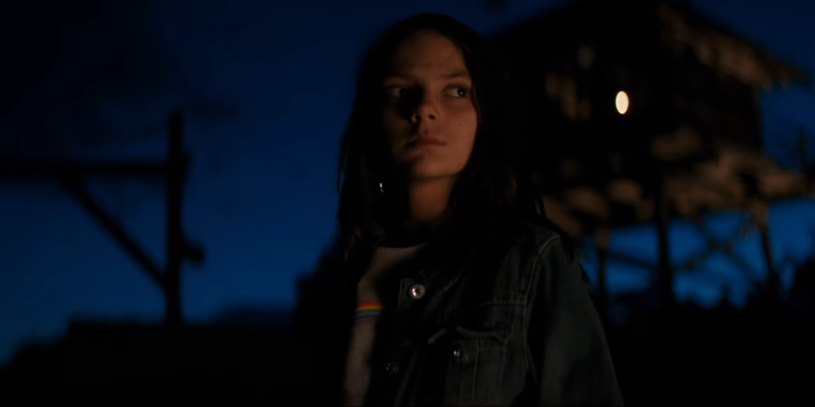 """Dafne Keen as Laura in """"Logan"""""""