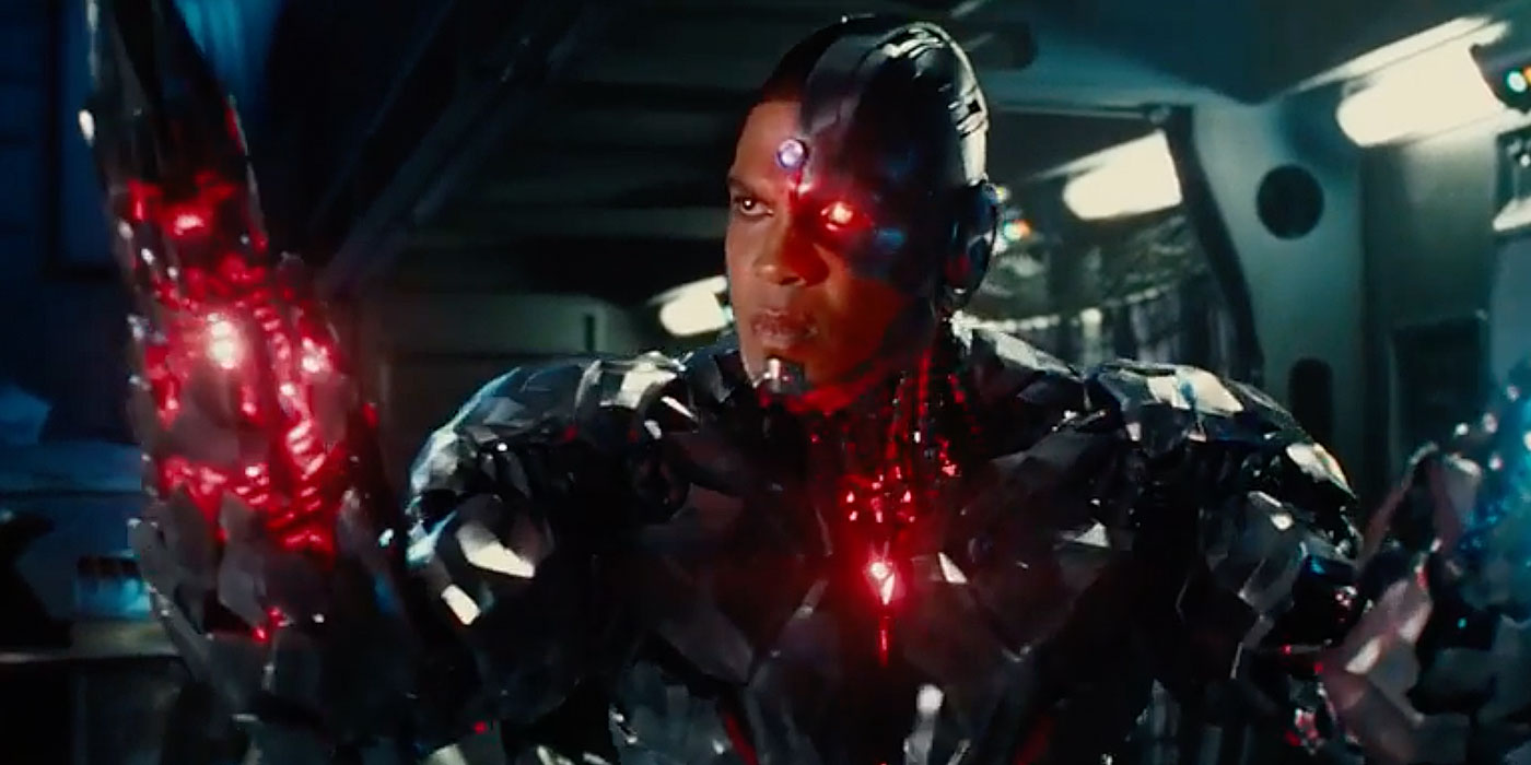 cyborg opens fire with new justice league poster and teaser