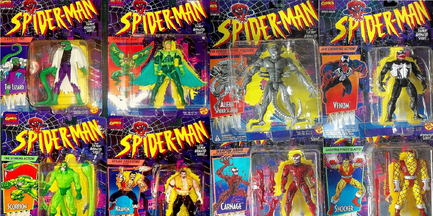 the most obscure spider man action figures of the 90s cbr