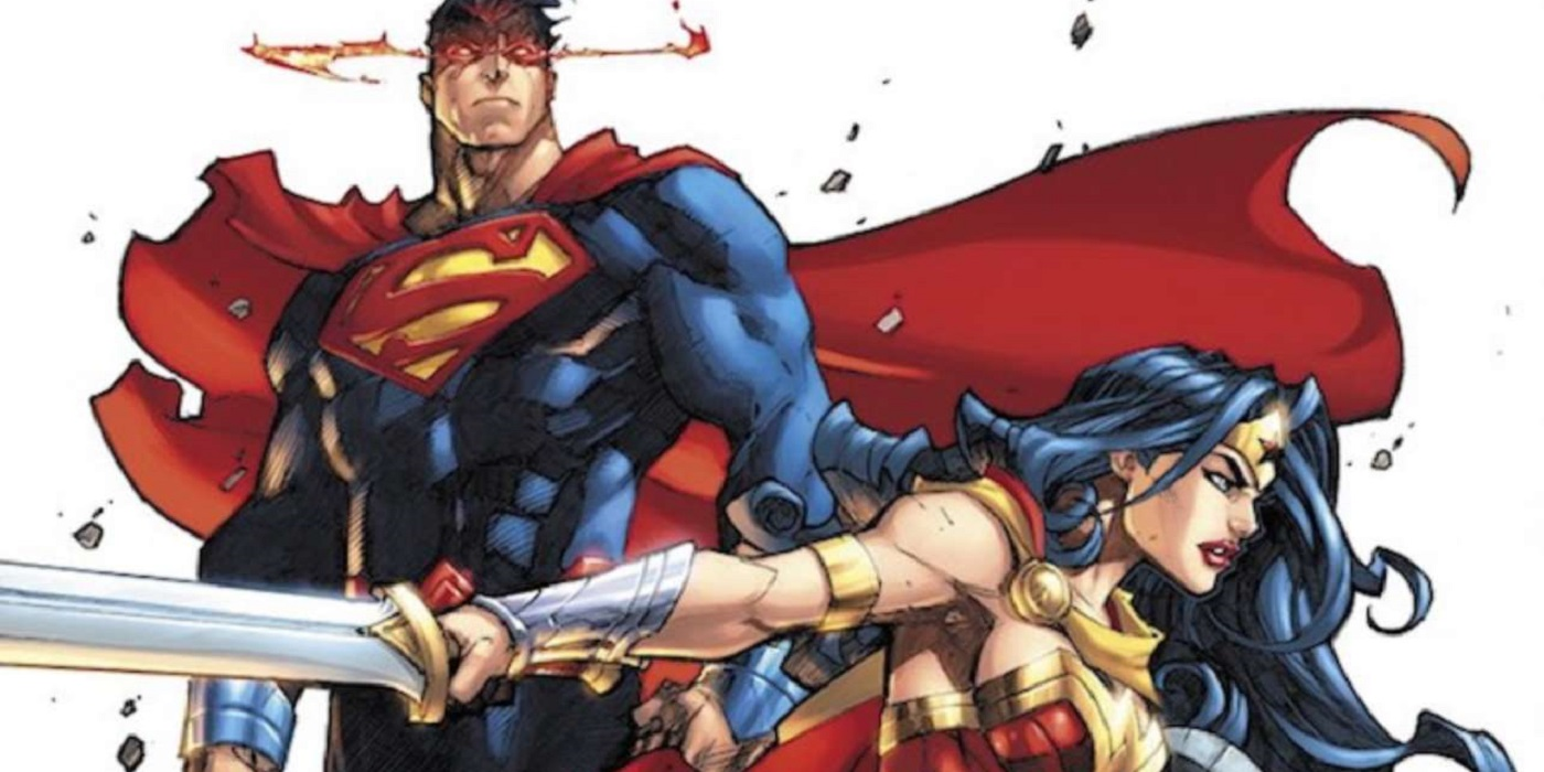 Joe Madureira Superman and Wonder Woman