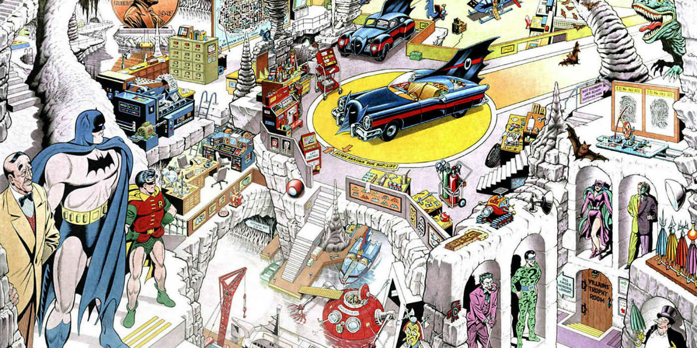 16 Things You Never Knew About The Batcave Cbr