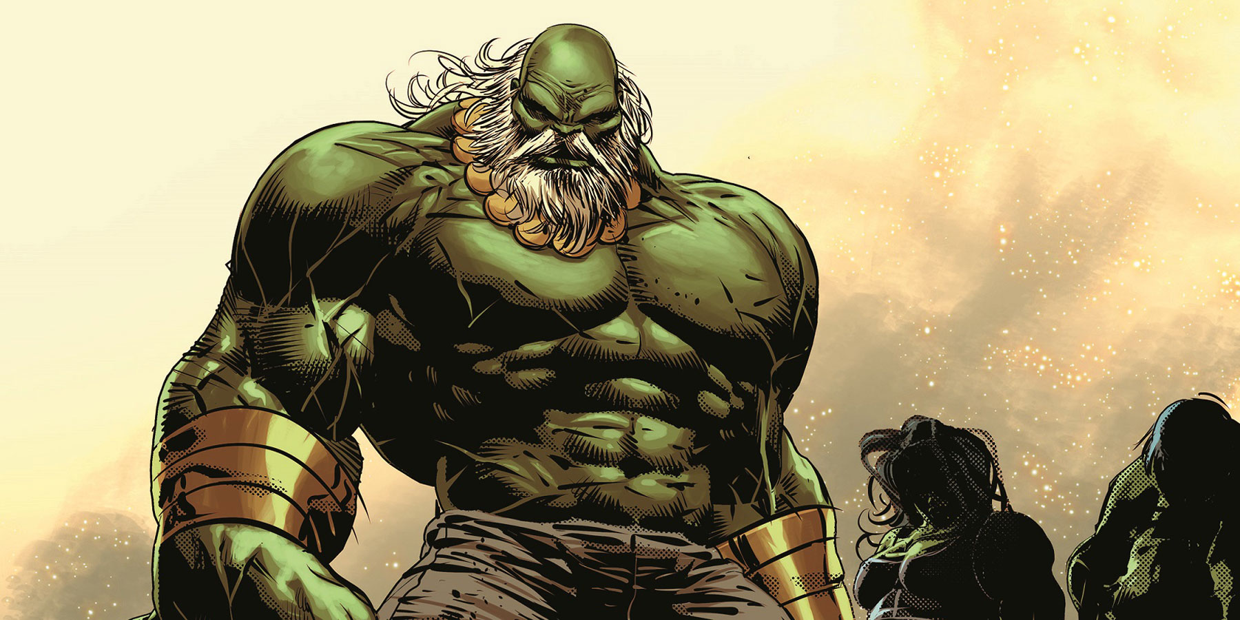 EXCLUSIVE: Old Man Logan Battles Maestro's Hulk Army in Deodato Art