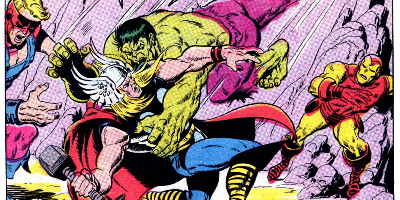 thor vs hulk 15 biggest fights in comics cbr