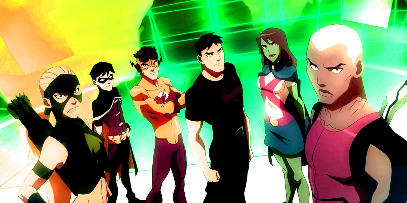 young justice revival  live