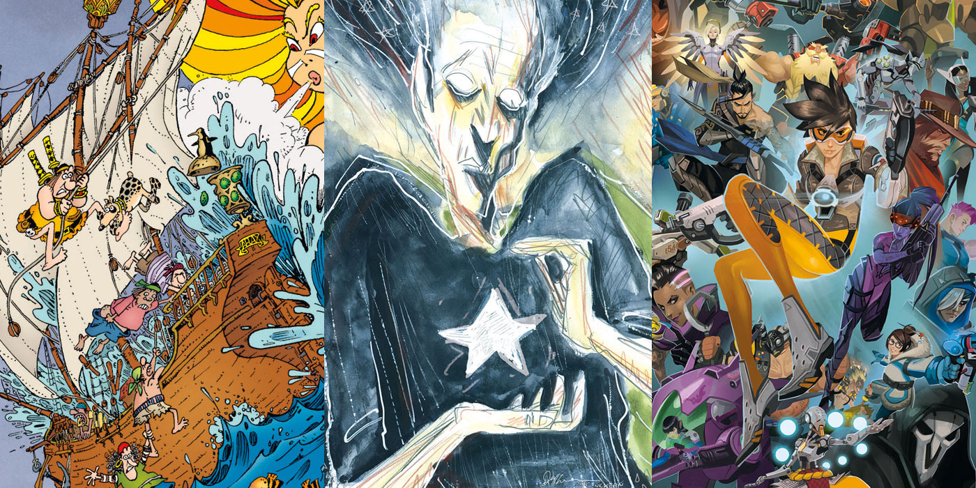 Dark Horse Comics August Solicitations CBR - 21 designer problems turned into funny comics that tell the absolute truth