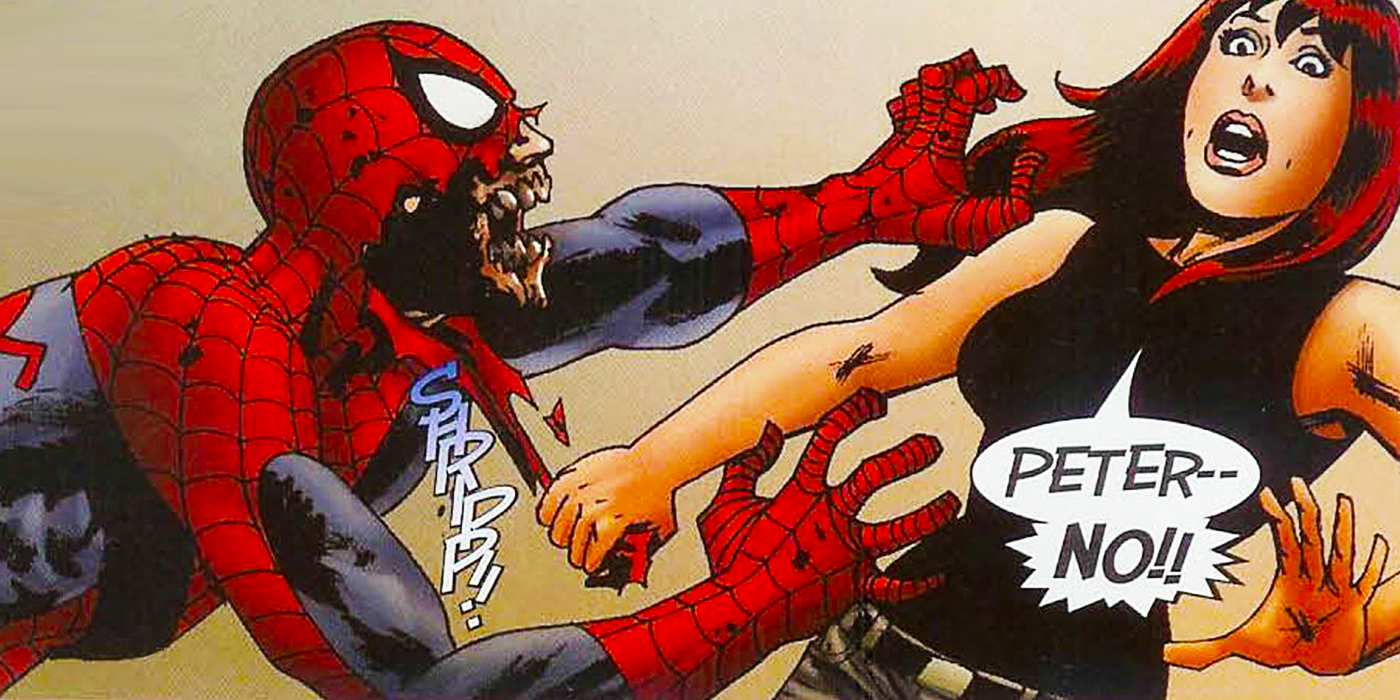 Zombie Spiderman Comic | www.pixshark.com - Images ...
