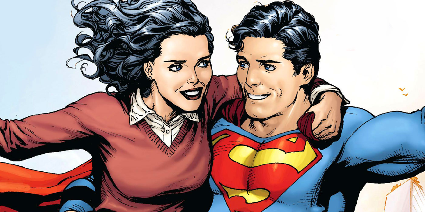 Forget Wonder Woman Lois Lane Superman Have Always Been Dc