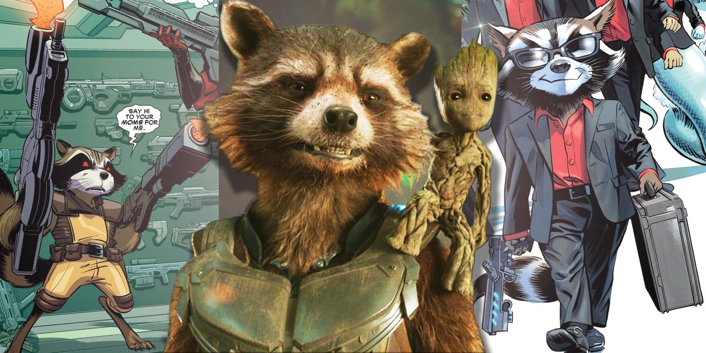 Rocket Raccoon: 15 Weird AF Things You NEVER Knew