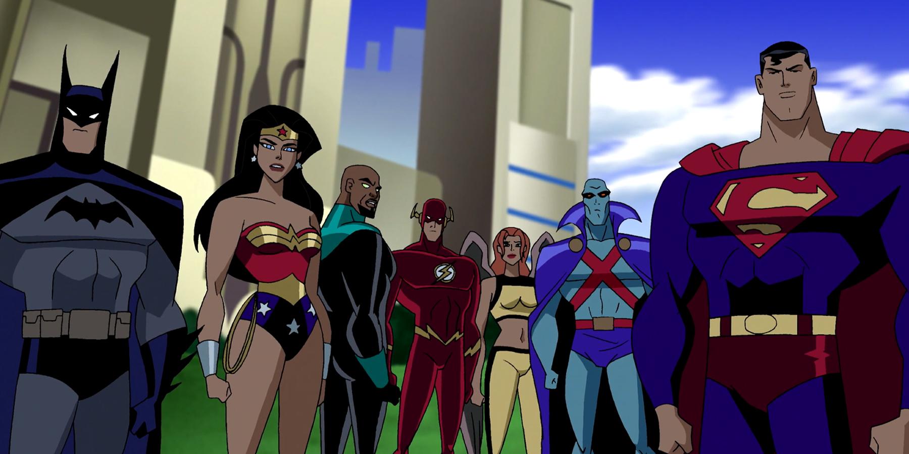Justice League Serie Stream