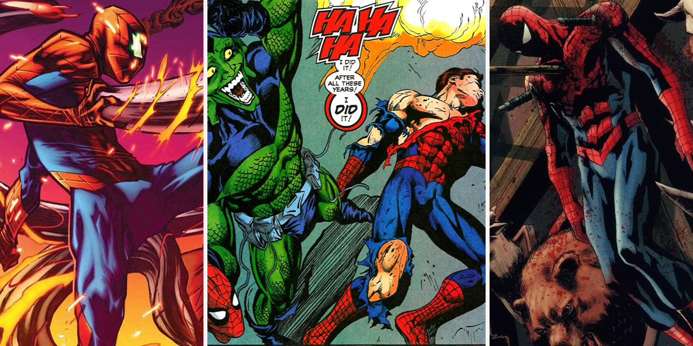 spider man 15 times the wall crawler should have died cbr