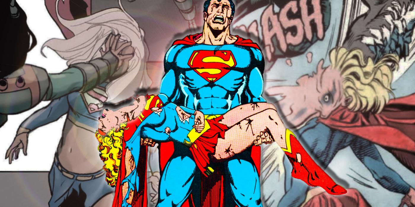16 Times Supergirl Was Beaten