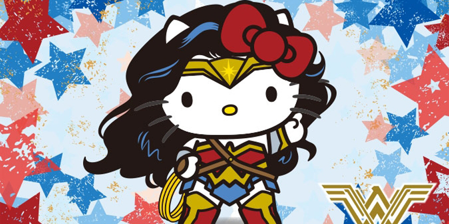 Wonder Woman Meets Hello Kitty In New Sanrio Collaboration