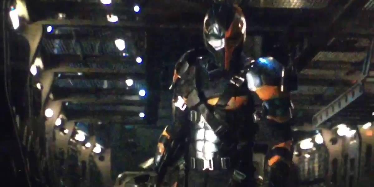 Deathstroke-test-footage-Batman