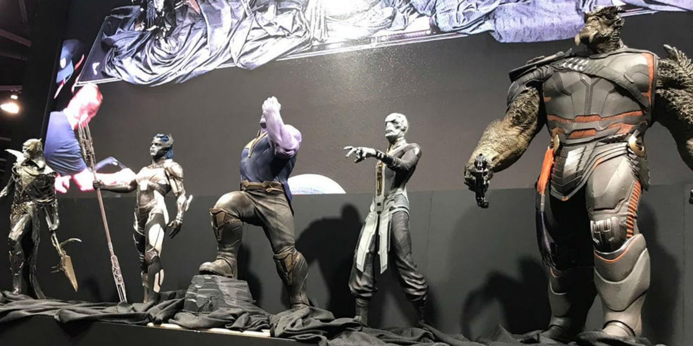 Infinity War Part One Cast