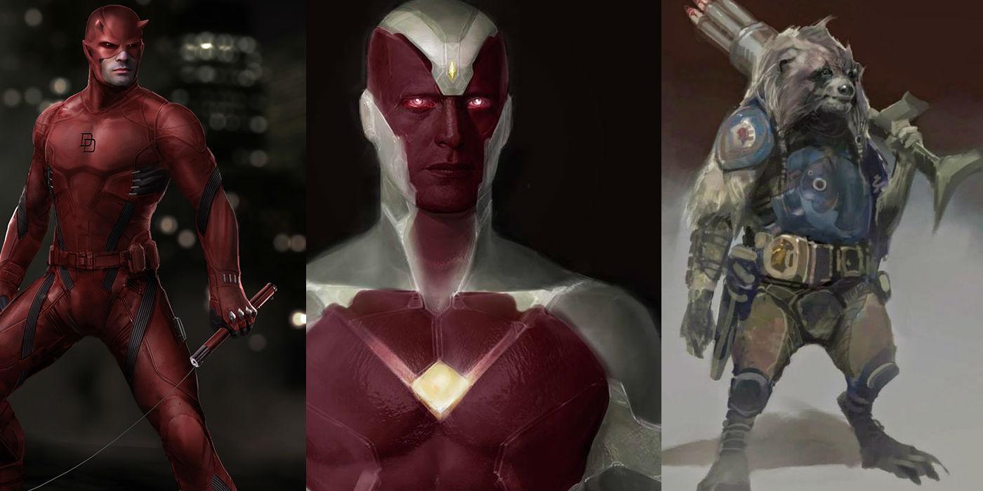 sc 1 st  CBR & Unused MCU Superhero Costumes | CBR