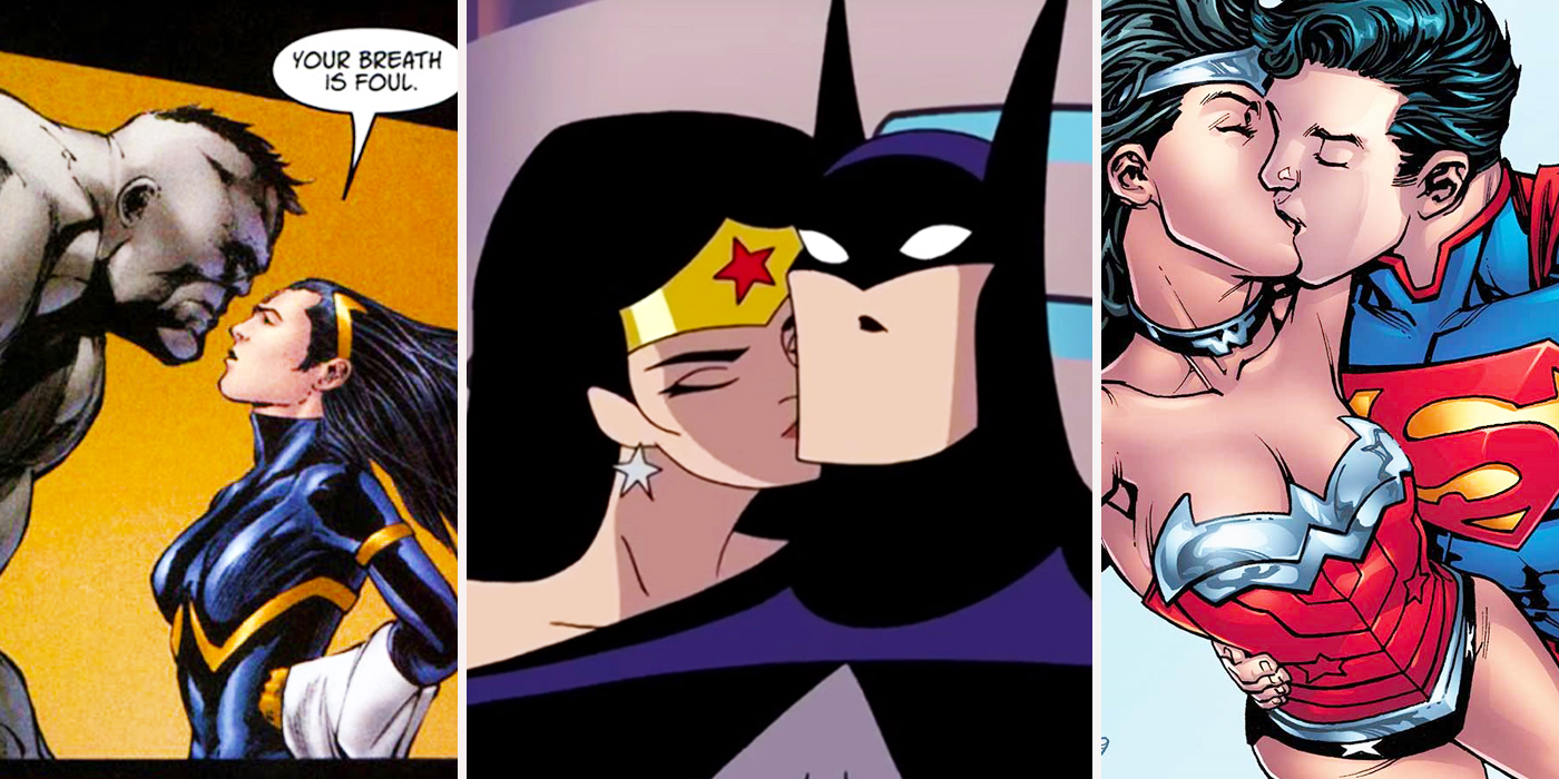 Wonder women having sex with batman