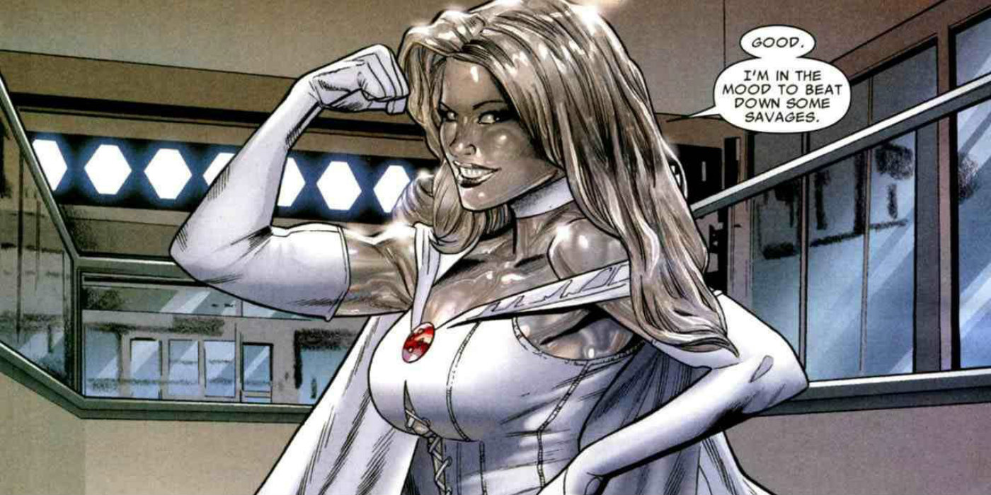 Never X Emma Frost